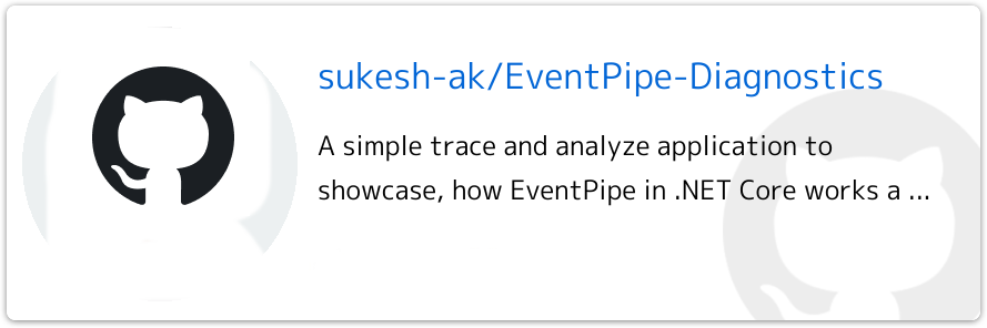 Event Pipe Diagnostics Github project